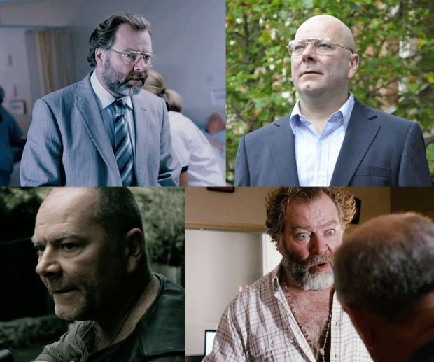 Mark Mitchinson in various acting roles