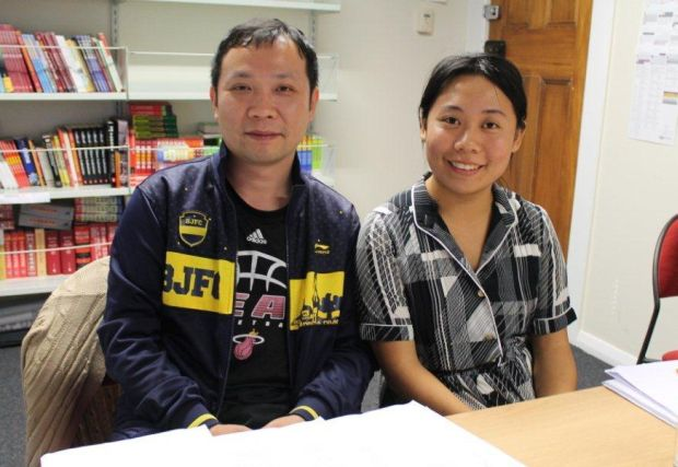 Featured Poets Liang Yujing and Ho Yawen at the Confucius Institute Victoria University