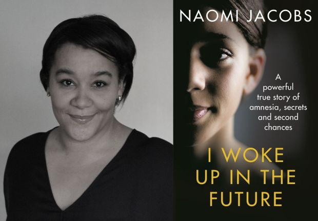 Naomi Jacobs and book cover