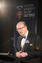 Brigadier David Allfrey Tattoo launch CREDIT Jeff McEwan Capture Studios