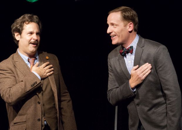 Paul F Tompkins and Marc Evan Jackson from The Thrilling Adventure Hour Credit Mindy Tucker