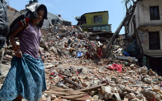 Nepal earthquake afp