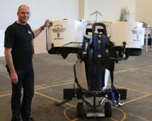 Richard Lauder and the Martin Jet Pack