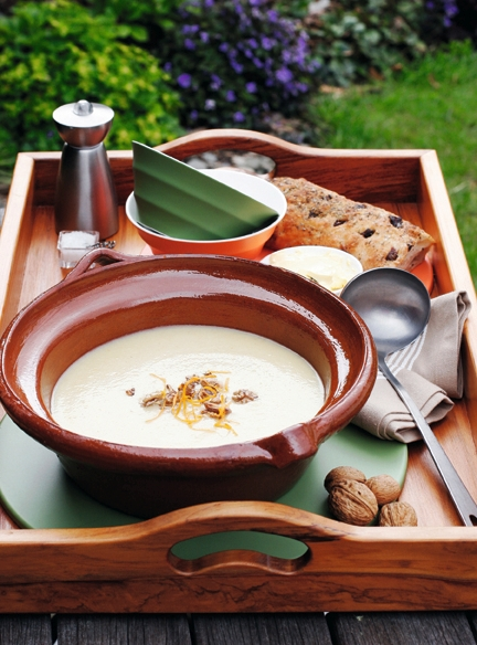 Creamy Parsnip and Orange Soup