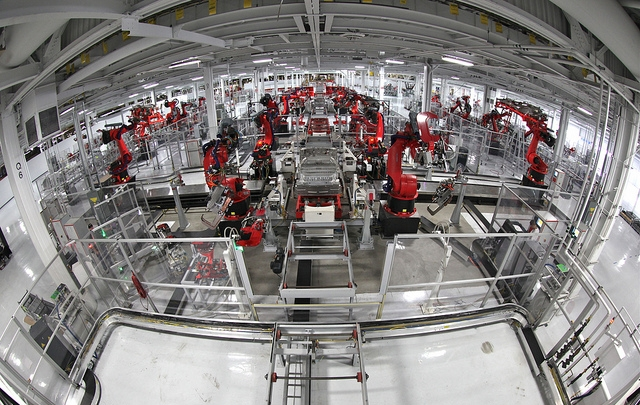 China s manufacturing robots
