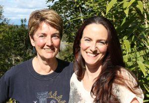 Sharyn Steel and Zoe Dryden