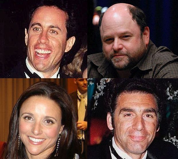 Seinfeld actors montage CC BY wiki mod