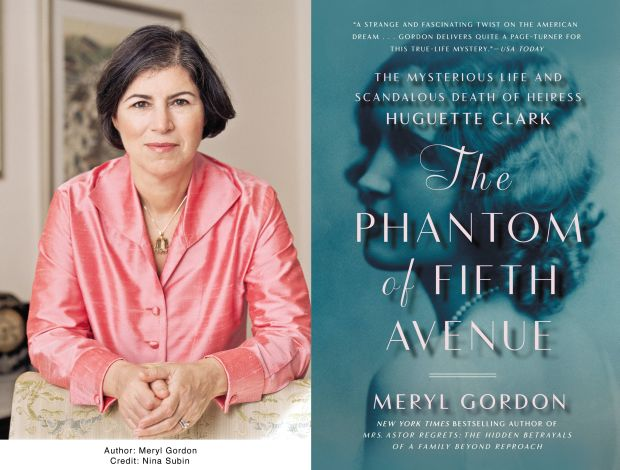 Meryl Gordon and book cover
