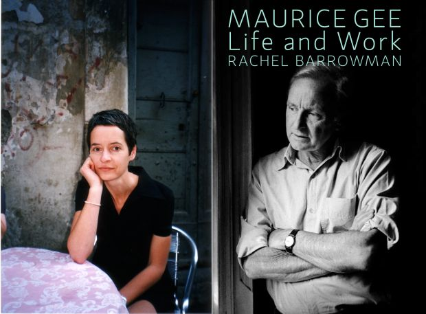 Rachel Barrowman and book cover