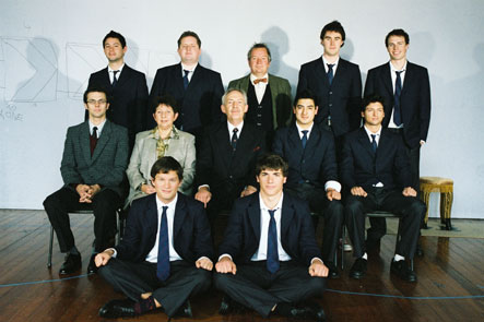 The Cast of the History Boys.