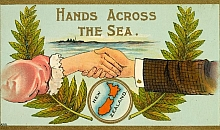 Hands across the sea New Zealand