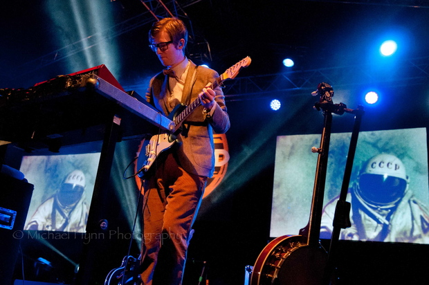J Wilgoose Esq of Public Service Broadcasting Photo Michael Flynn