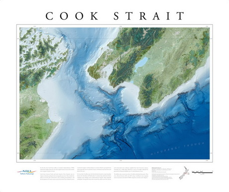 Cook Strait bathymetry