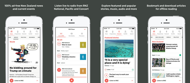 RNZ : RNZ apps for iPhone and Android