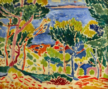 André DERAIN (1880–1954), France, Paysage à l'Estaque, (Estaque landscape) 1906