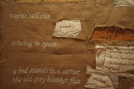 Erstwhile - detail by Kate Sellar and Penny Sommervaile