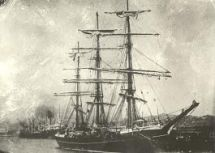 Drawing of the ship Dartford