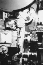 Takaka Cinema projectionist
