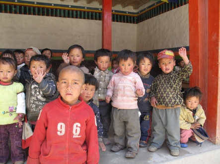 Odyssey Rita Evans Mustang Children in Day Care Lo monthang