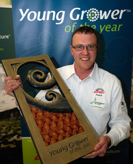 Ben Smith - Young grower of the year