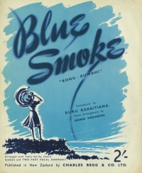 Blue Smoke sheet music