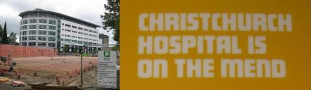 Christchurch Hospital is on the mend