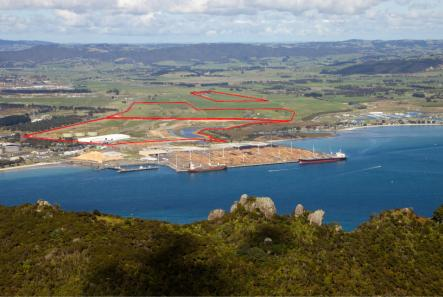 Mike Daniel s proposed space for Auckland port to be relocated to Northland