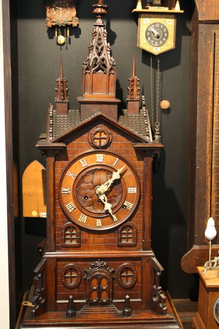 Clocks April German made monastery clock Courtesy Claphams National Clock Museum small