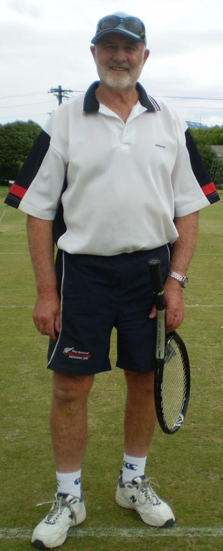 Tennis April Paddy Ludlam from Levin small