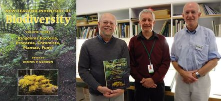 Editor and authors of volume three of New Zealand Inventory of Biodiversity