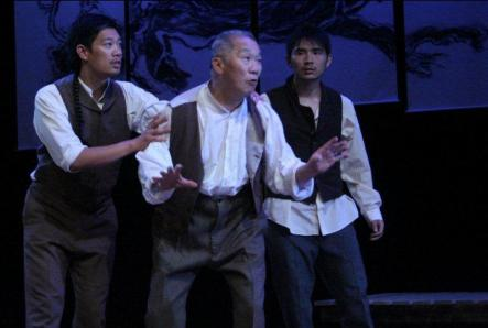 Llanyon Eli Joe Charles Chan and Willie Ying as ghosts
