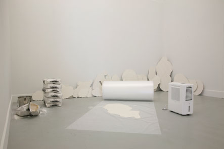 Dane Mitchell: Various Solid States 2010 / 2011 (installation view).