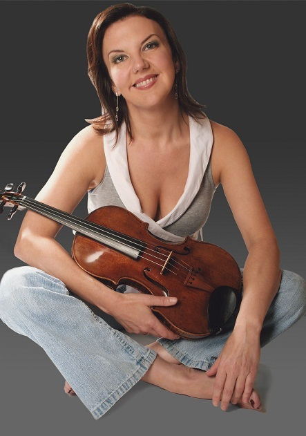 British violinist Tasmin Little by Melanie Winning
