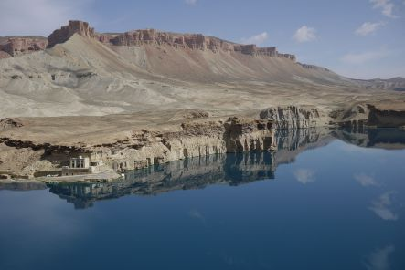 Bamyan July The Shrine at Band i Amir small
