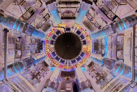 LHC atlas detector