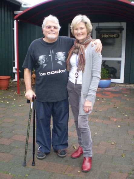 Hospice Patient Gordon Mason and Joan Doyle