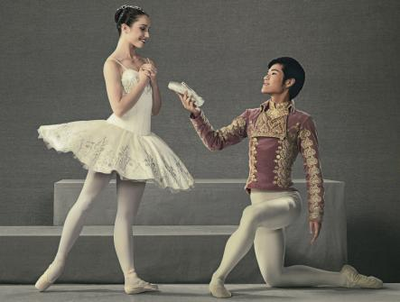 RNZB Lucy Green as Cinderella and Kohei Iwamoto as The Prince Photo by Ross Brown