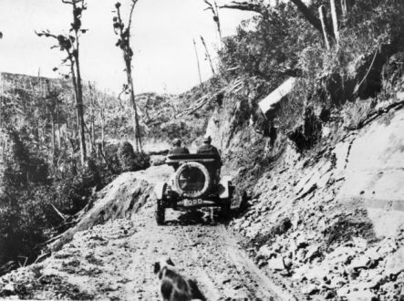Mud Model T August The going gets tougher Courtesy National Library small