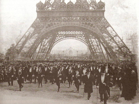 Opening ceremony of the 1900 Paris World Fair