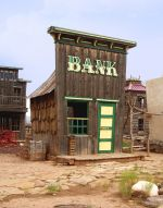 A rickety old bank. Is the Free Market in a similar condition?