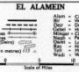 Map of El Alamein Egypt thumb