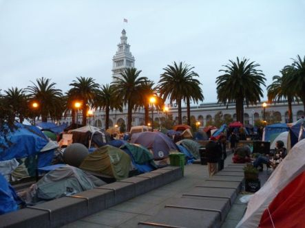 Deborah Kendon Occupy Camps San Francisco