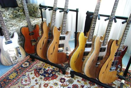 Dave Berry guitars