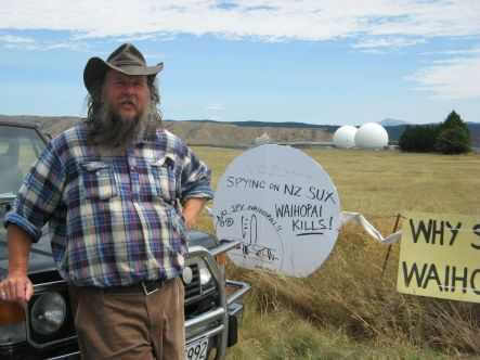 Waihopai Adrian Leason one of the who slashed the Waihope base balloons small