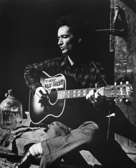 Woody Guthrie PhotographyUnknown CourtesyOfWoodyGuthrieArchives