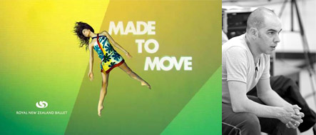 Made to move poster, and Javier De Frutos