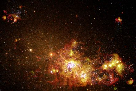 clusters of new stars