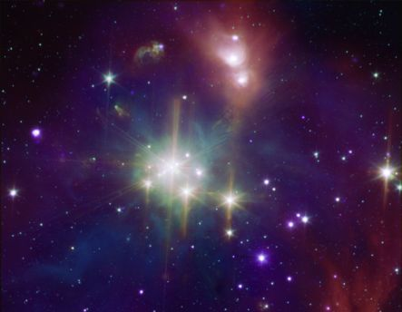 Coronet A Star Formation Neighbor
