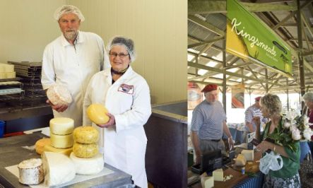 Janet and Miles King of Kingsmeade Cheese near Masterton