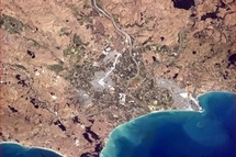 Drought Hawkes Bay from space